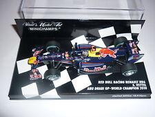 Minichamps F1 1/43 Red Bull Racing RB6 ABU DHABI GP Campeón Mundial Vettel
