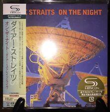 DIRE STRAITS- On The Night Japan MINI LP SHM CD w/OBI UICY-93735 LE #0060 OOP