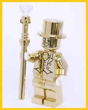 MR GOLD SERIES 10 **CUSTOM** COLLECTIBLE MINIFIGURE MR. GOLD FIts Lego