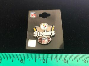 """NEW 2020 ISSUE Pittsburgh Steelers """"Victory"""" Lapel Pin - NFL Licensed - Classic"""