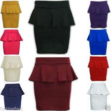 Viscose Short/Mini Formal Plus Size Skirts for Women