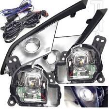 Fit 2016-2018 Mazda CX-3 CX3 LED Fog Light Lamp Kit W/Bezels Wiring Relay Bulbs
