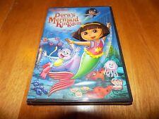 DORA THE EXPLORER DORA'S RESCUE IN MERMAID KINGDOM NICKELODEON TV DVD NEW