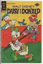 Gold Key Comics Walt Disney's Daisy and Donald  #21 Jan. 1977 VG-