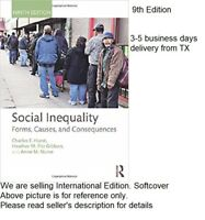 Social Inequality Forms Causes And  9E by Hurst (3-5 business days delivery)