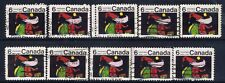 Canada #527(3) 1970 6 cent Christmas - Santa Claus 10 Used