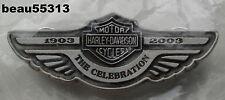 """NEW"" HARLEY DAVIDSON 2003 100th ANNIVERSARY ""THE CELEBRATION"" WING VEST PIN"