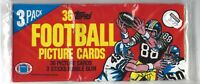 1982 Topps Unopened Vintage Football Rack Pack - Get a PSA 10 Taylor Lott Rookie