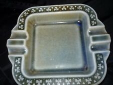 WADE Irish Porcelain ASHTRAY  Green Sq Co Armagh  #IP626