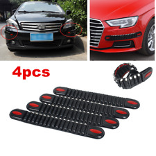 4Pcs Universal Car SUV Body Bumper Guard Scratch Protector Rubber Strip Trim