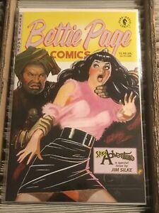 BETTIE PAGE COMICS SPICY ADVENTURES #1 one-shot JIM SILKE DARK HORSE COMICS 1997