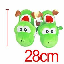 NE Super Mario Brothers Yoshi Adult Plush Slipper Indoor Adult Children Slippers