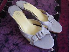 "A2 Aerosoles Lavender Purple Heels 9B cushioned sole for comfort 3"" heel EUC"