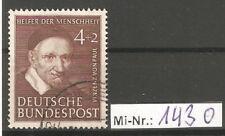 Bundesrepublik Mi-Nr.: 143  ex Wohlfahrt 1951 sauber gestempelter Wert