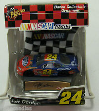 NASCAR #24 Jeff Gordon 2003 Dated Collectible Ornaments