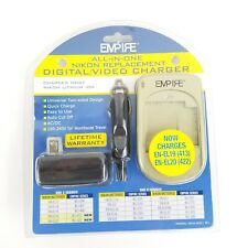 Empire All in One Nikon Digital/Video Universal Battery Charger New