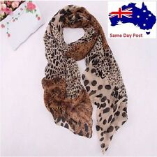 Unbranded Chiffon Animal Print Scarves & Wraps for Women