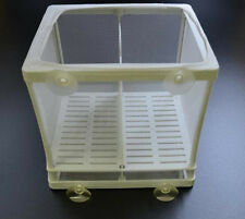 Breeding Fry Net Incubator Hatchery Breeder Plastic Frame Fish Tank Isolation
