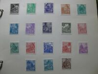 DDR EAST GERMANY Mi. #405-422 scarce mint stamp set! CV $85.00