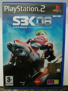 Sbk 08 Superbike world championship ps2 playstation 2 italiano nuovo sigillato