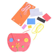 DIY Handmade 3D EVA Foam Sticker Cartoon Mini Purse Kids Craft Toy Kits