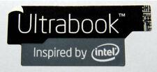 Ultrabook Insprired By Intel Black Edition Sticker 13 x 30mm Badge Logo