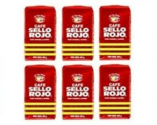 6x Cafe Sello Rojo Espresso Ground Coffee 6 x 500 g Colombia
