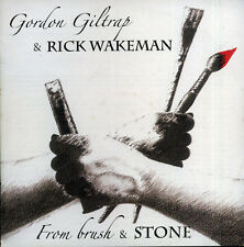 Gordon Giltrap, Rick Wakeman ‎– From Brush & Stone CD NEW