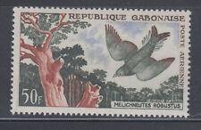 Gabon 1961 Bird Airmail Mint never hinged