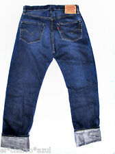 LVC Vintage LEVI'S Blue Blood 1955 501 Jeans USA Made Redline Selvedge Men 32x34