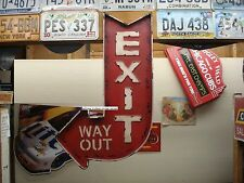 LARGE EXIT DECOR cinema movie theater mancave wall art collectible vintage style