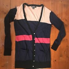 "DKNY size Small ""P"" Cardigan Perfect Condition Wool $299"