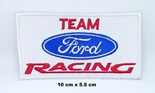 Vintage Team Ford Racing Formula 1 Biker Iron-on Embroidered Patch T-Shirt