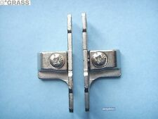 Grass Drawer Front fixing brackets for Grass 53mm Metal Drawer sides (pair).