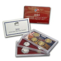 (1) 2010 United States Silver Proof Set in Original Box