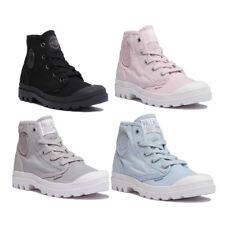 Palladium Pampa Hi Womens Peach Canvas Ankle Boots Size UK 3 - 8