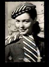 Ingeborg Schöner Kolibri Autogrammkarte Original Signiert # BC 50500