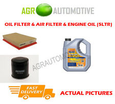 PETROL OIL AIR FILTER KIT + LL 5W30 OIL FOR NISSAN X-TRAIL 2.0 141 BHP 2007-