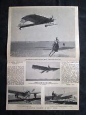 Aeroplano Antoinette al campo di Chalons, Rene Demanest Stampa del 1909