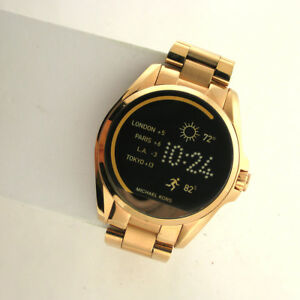 Michael Kors Access Touchscreen MKT5004 Bradshaw Smartwatch Rose Gold Stainless