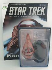 Eaglemoss Star Trek Starships Collection Nº 55 Vulcan D'kyr Type Die-cast Model