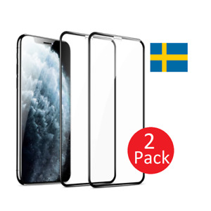 (2 Pack) Screen Protector for iPhone X Xr Xs Xs Max 11 12 Pro Max Tempered Glass