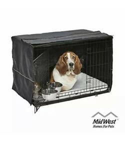 iCrate Dog Crate Starter Kit | 36-Inch Dog Crate Kit Ideal for Medium/Large