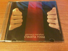 CDs GIANCARLO MARTELLONI CRAVATTA ROSSA