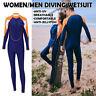 Men&Women's Stretch Full Body Wetsuit Surf Swim Diving Steamer Swimming Surfing