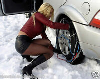 Catene Da neve Per Auto Da 9mm Omologate ONORM V5117 Pneumatico 205/70R13