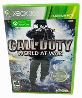 Call Of Duty World At War Platinum Hits Microsoft Xbox 360 / Xbox One New Sealed