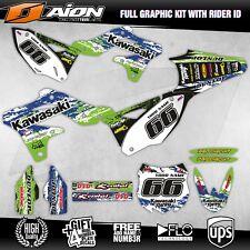 KAWASAKI KXF 250 2013 2014 2015 2016 Grafik kit Motocross dekor aufkleber set