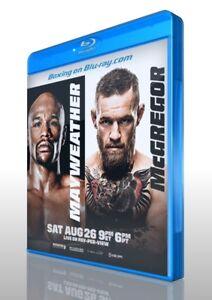 Floyd Mayweather Jr. vs. Conor McGregor on Blu-ray