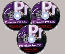 ADOBE PREMIERE PRO CS6 TUTORIAL VIDEO 8GB DVD